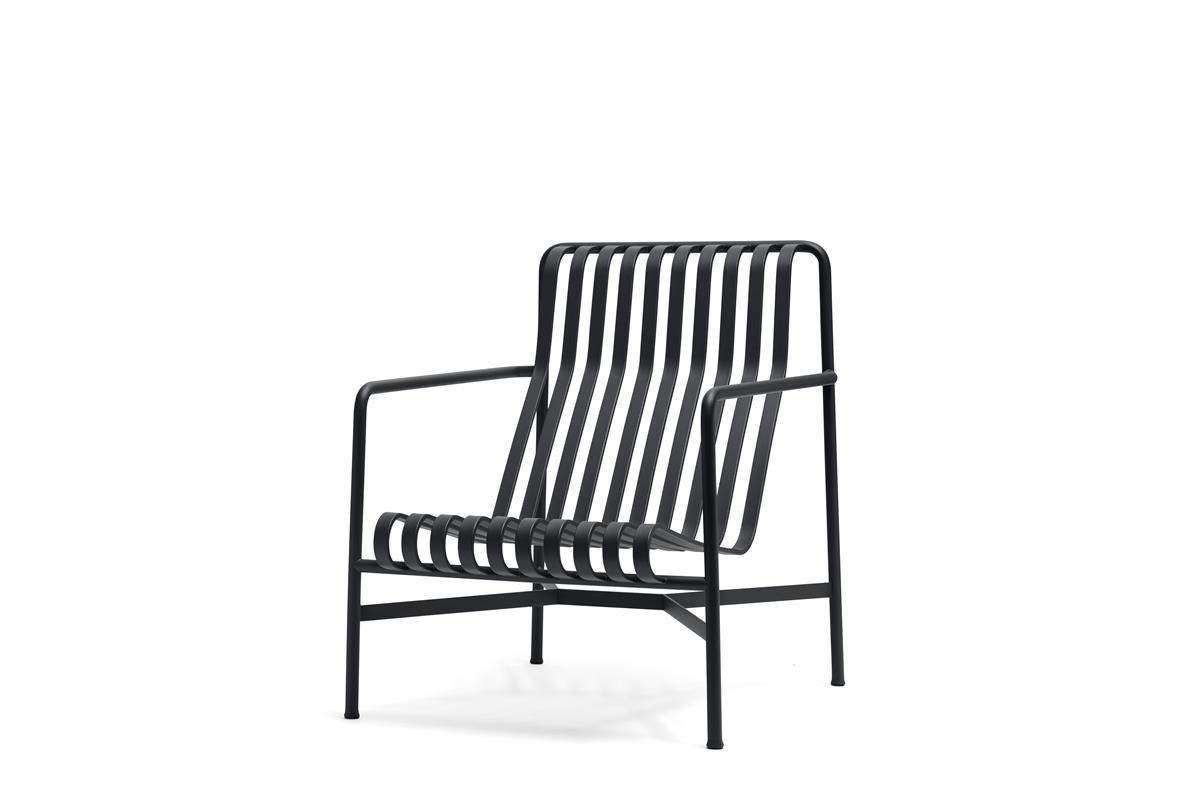 Palissade Lounge Chair High - Anthracite