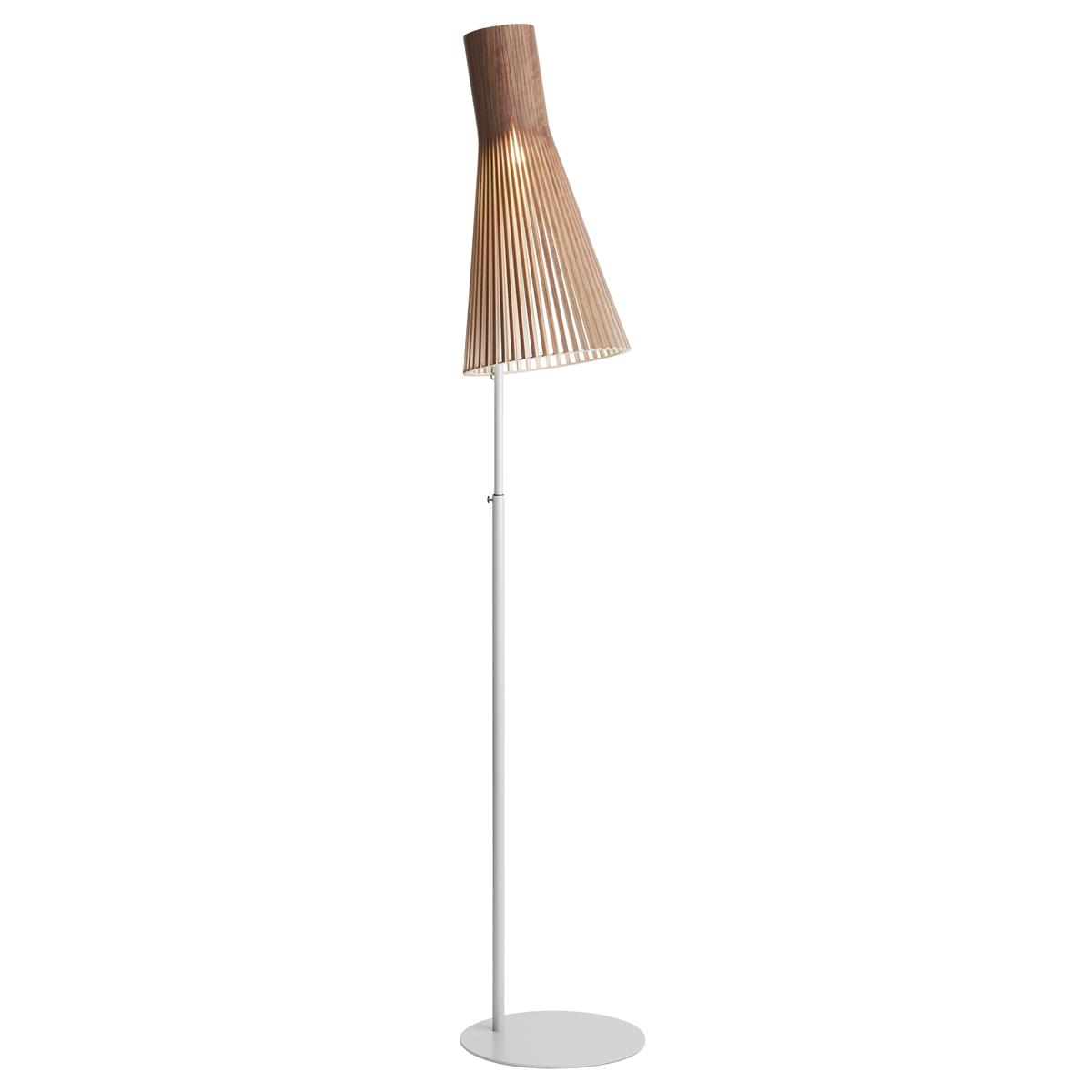 Secto 4210 Floor Lamp Walnut Veneer