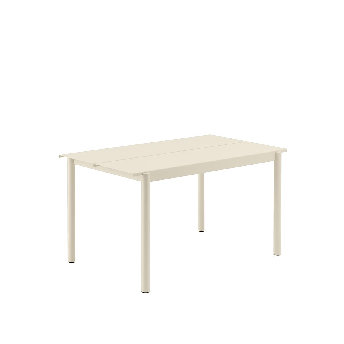 Linear Steel Table 140 x 875 x H73,5 - White