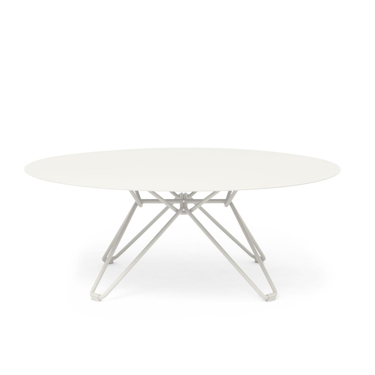 Tio Coffe Table Ø100 x H38 cm - White