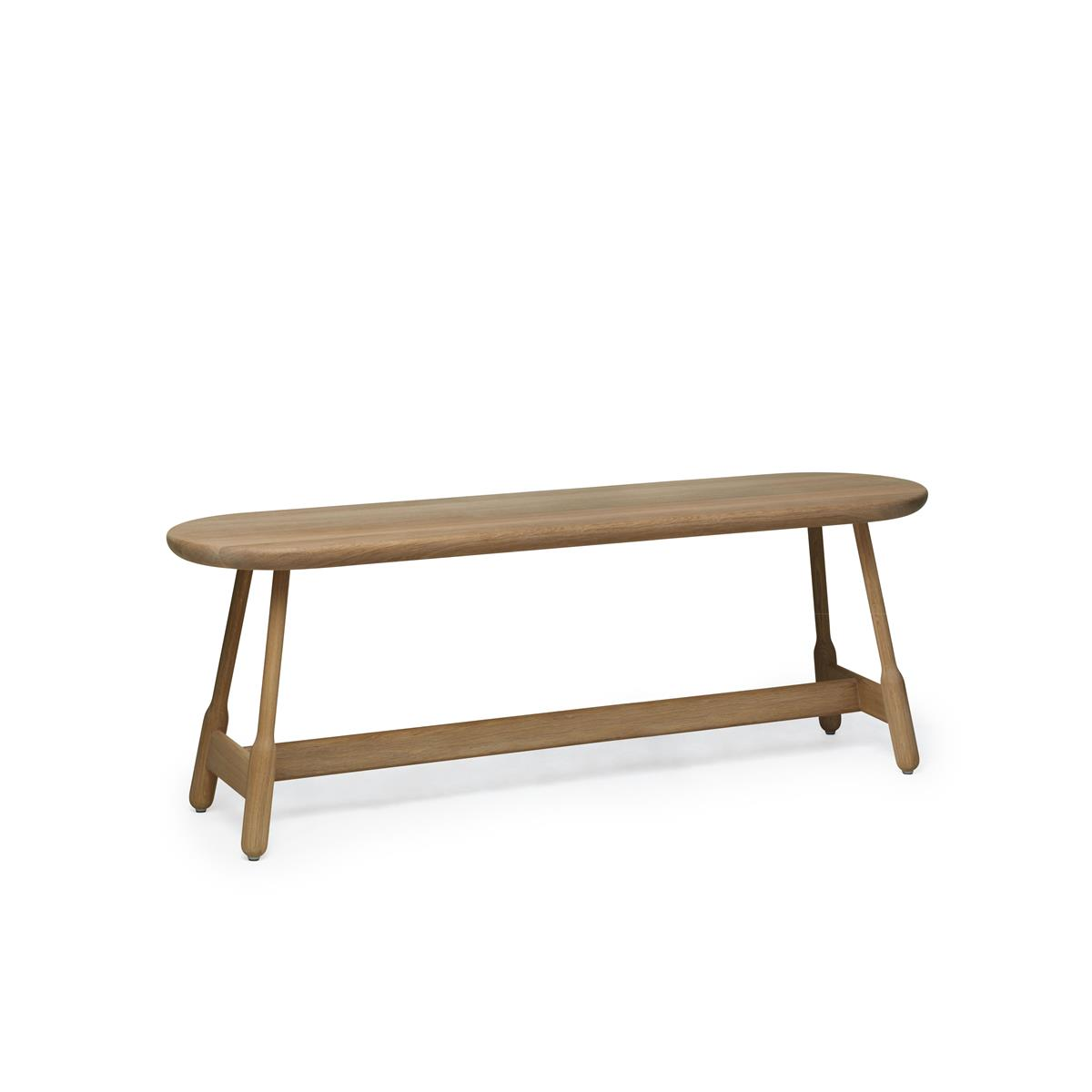 Albert Bench 160 cm - Natural Oak