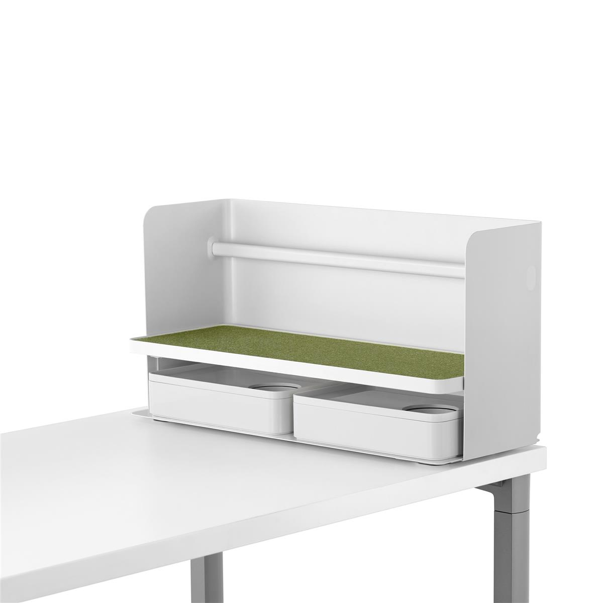 Ubi Work Tools Organizer - hvit & Hush Pesto