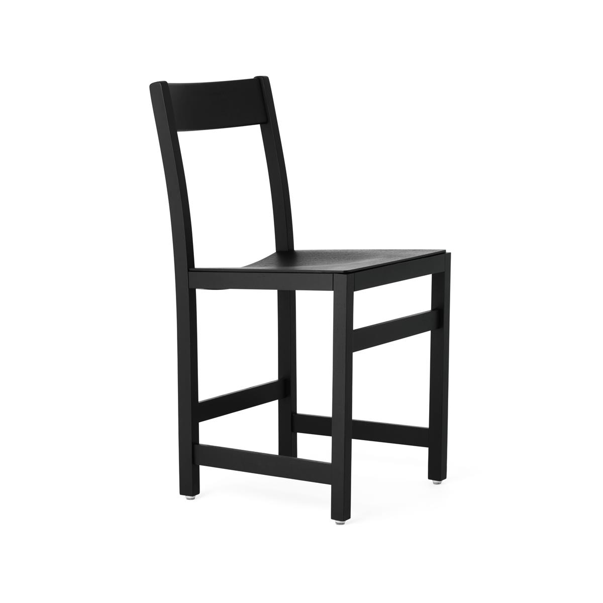 Waiter Chair - Black Stained Oak