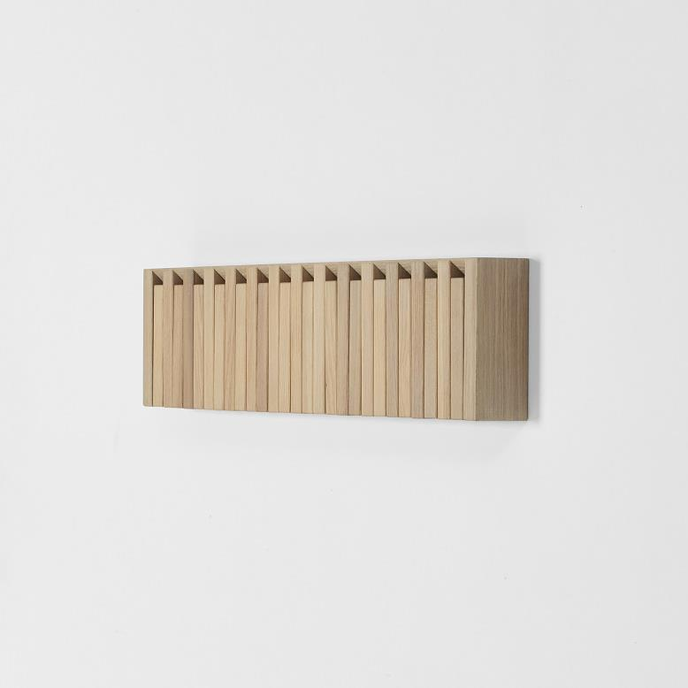 Piano Xylo Coat Rack - oljet eik