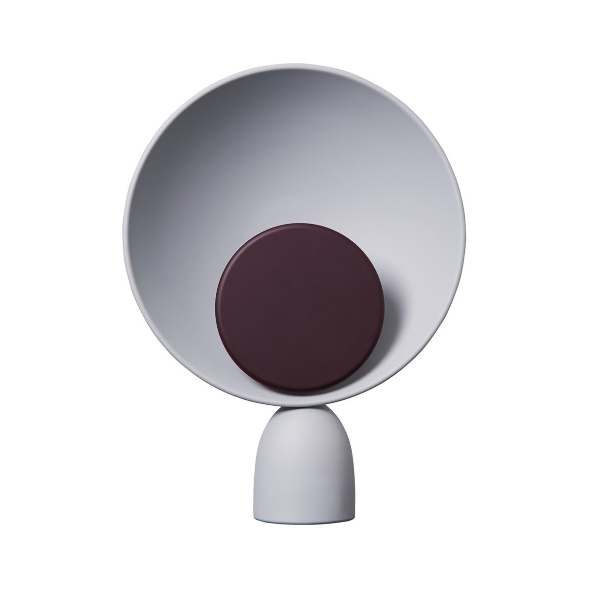 Blooper Lamp - Ash Grey & Fig Purple