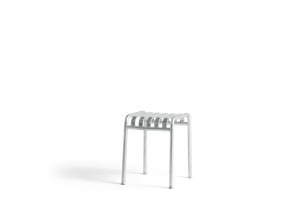 Palissade Stool - Hot Galvanised