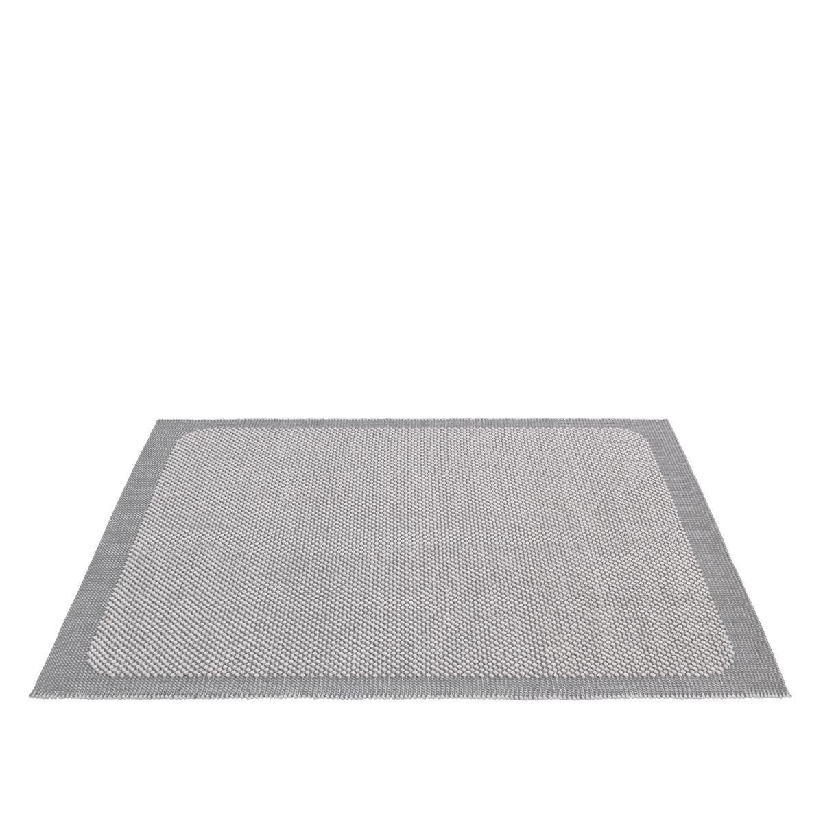 Pebble Rug. Light Grey 200 x 300