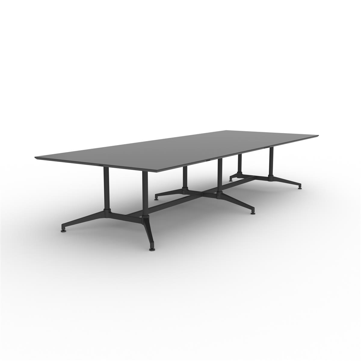 X1 Seamless Table 360 x 140 - sort linoleum & sort