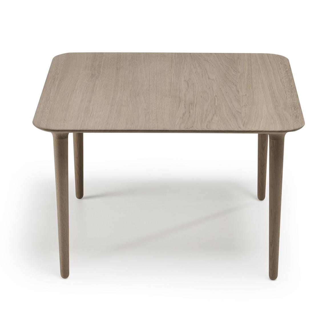 Evja Coffee Table. Eik Såpebehandlet. 70x70cm. H45cm.