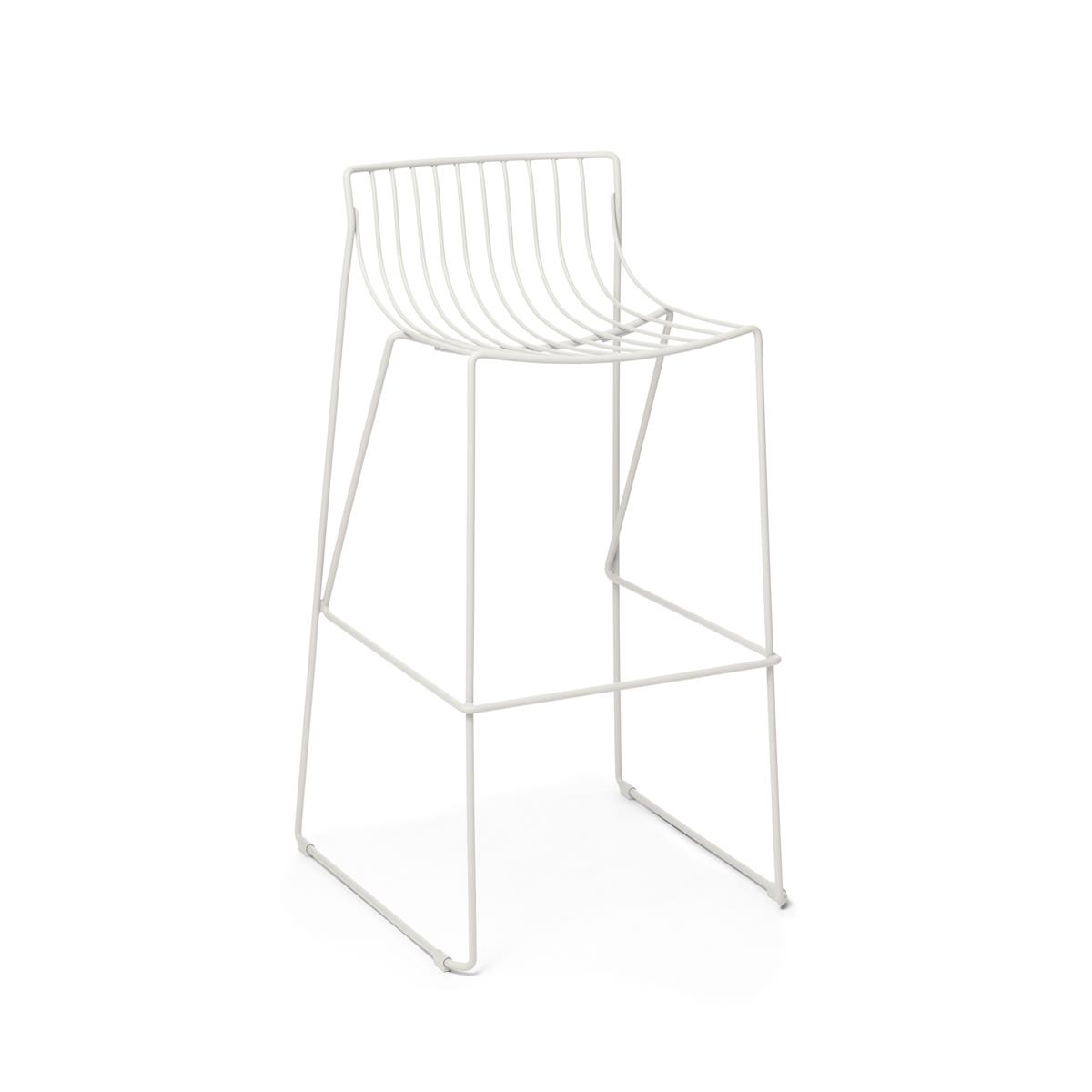 Tio Bar Stool - H 750 - White