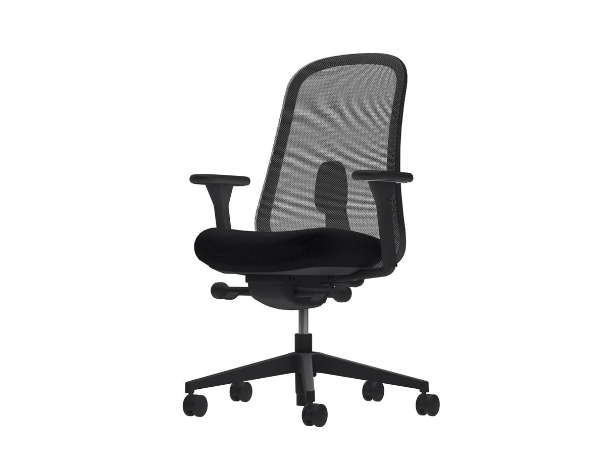 Lino Task Chair - Black Edition