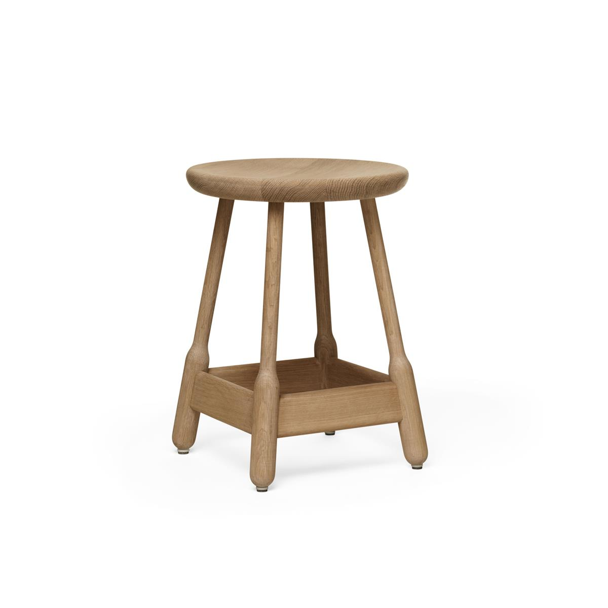 Albert Stool H50 - Natural Oak