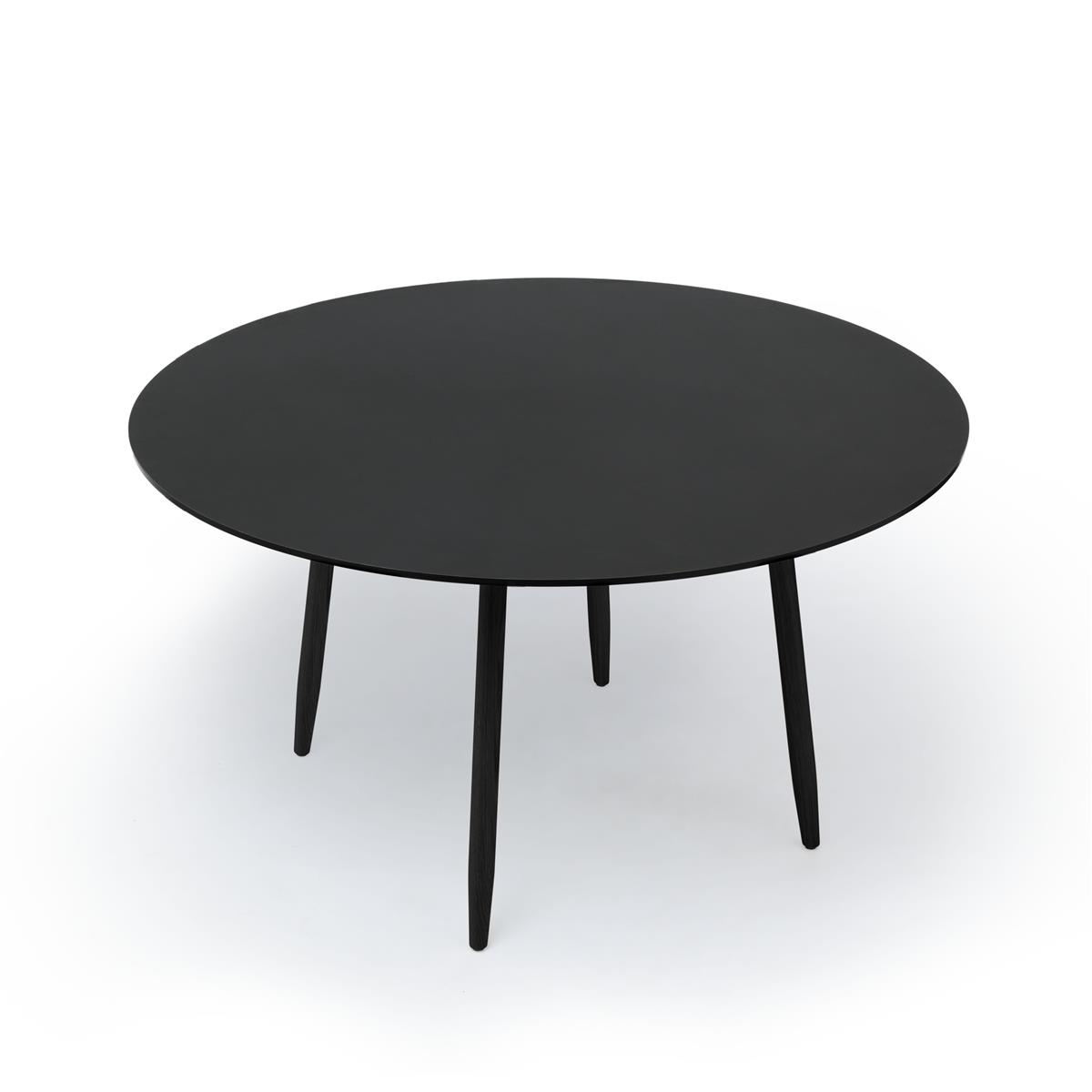 Icha Table - Charcoal & Black Stained Oak