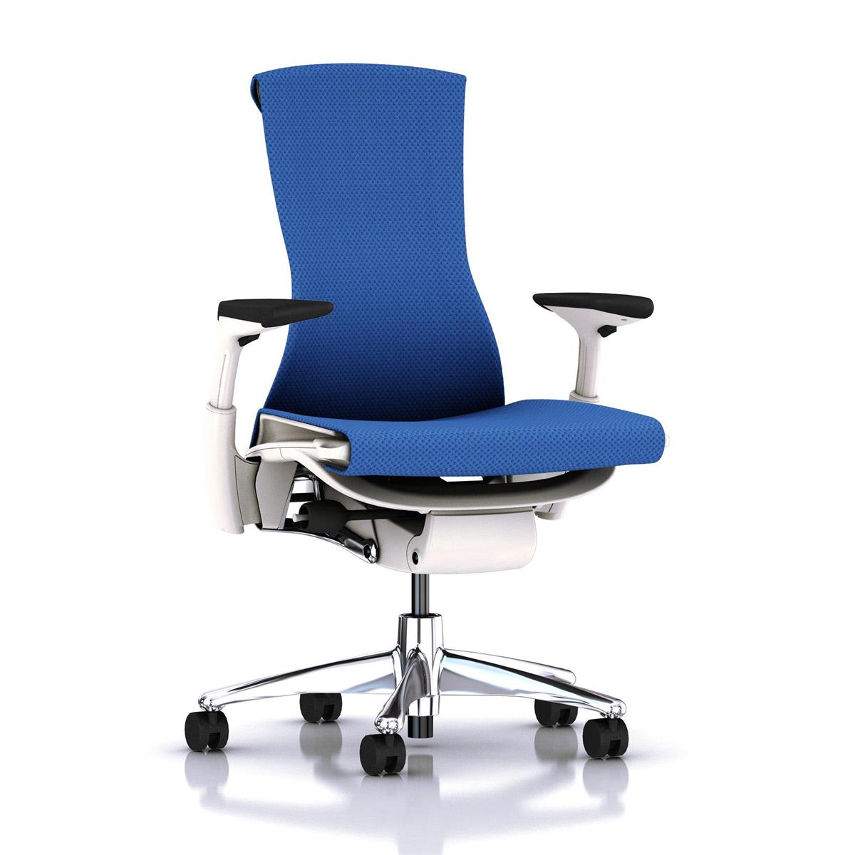 Embody Studio White / aluminium & Balance Berry Blue