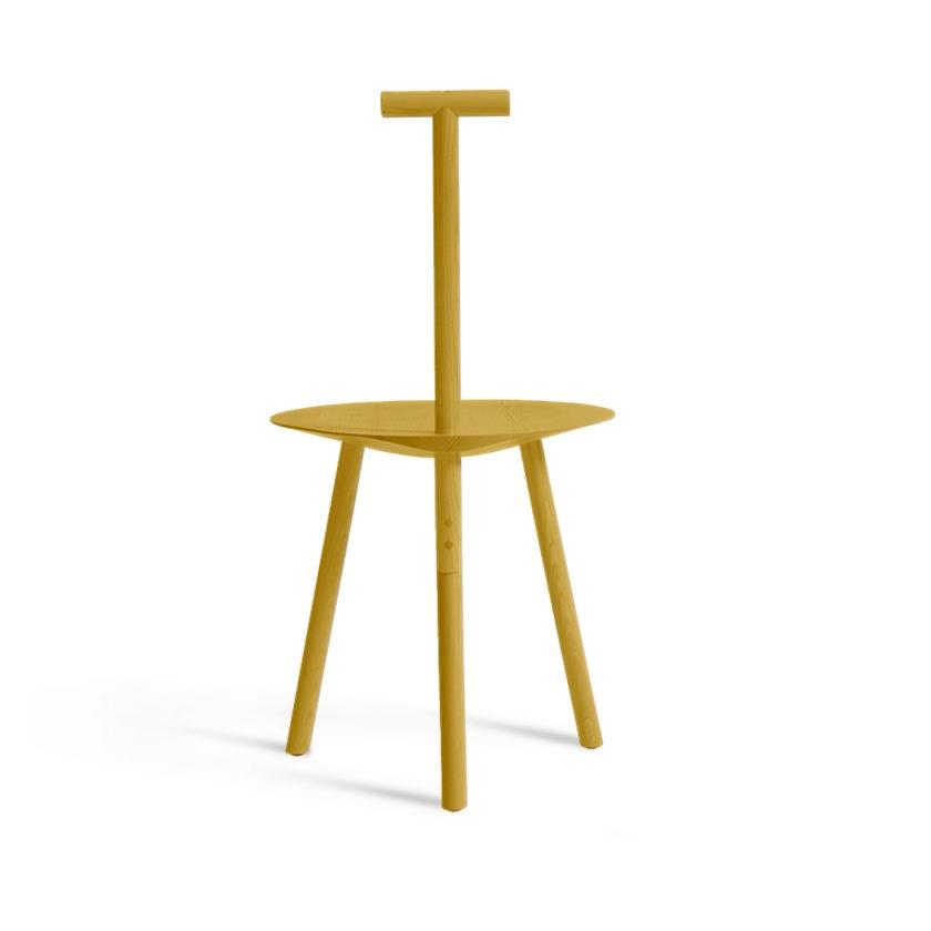 Spade Chair - Stained Turmeric Yellow