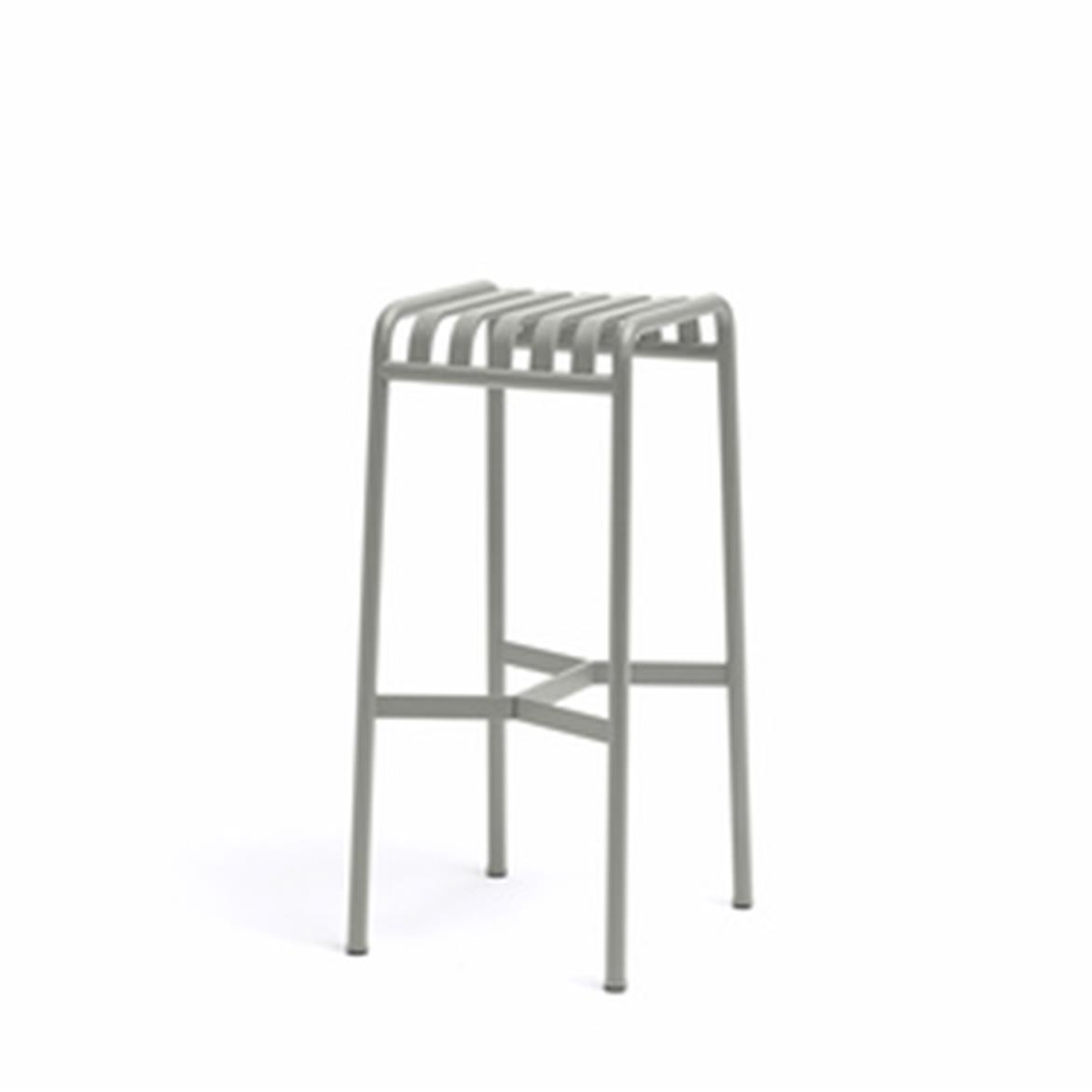 Palissade Bar Stool H74 - Sky Grey