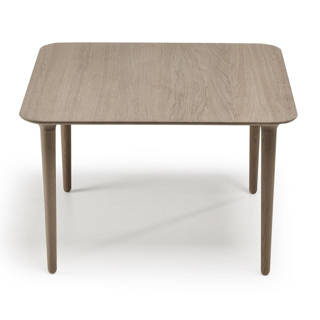 Evja Coffee Table. Eik Såpebehandlet. 70x70cm. H50cm.