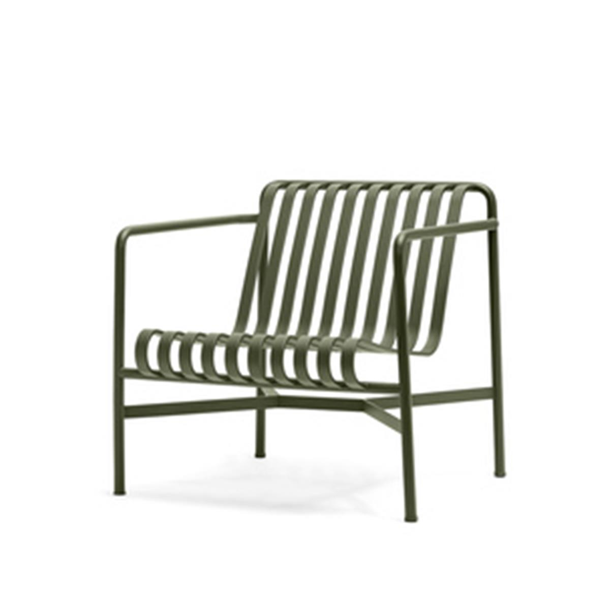 Palissade Lounge Chair Low - Olive