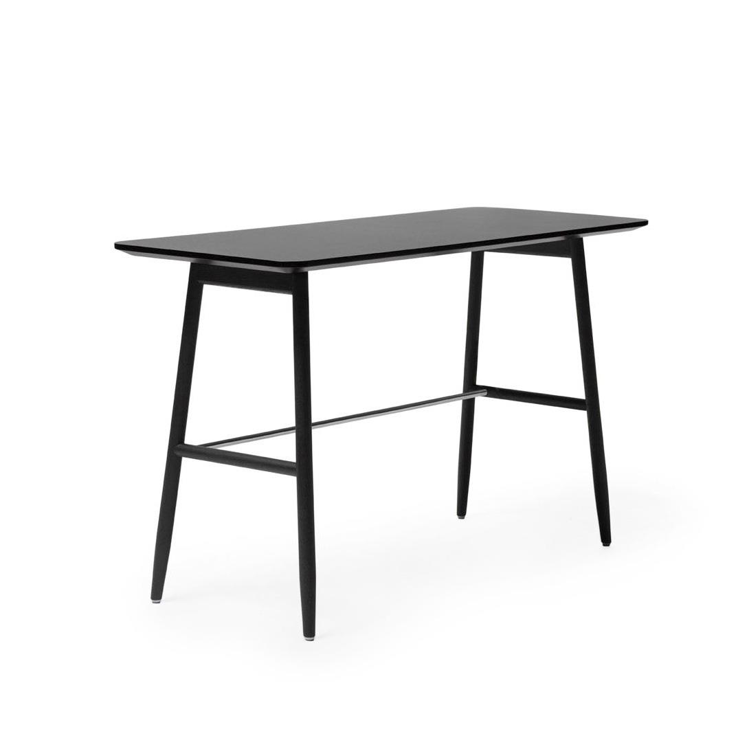 Icha Desk 120 x 50 cm i Charcoal & Black Stained Oak