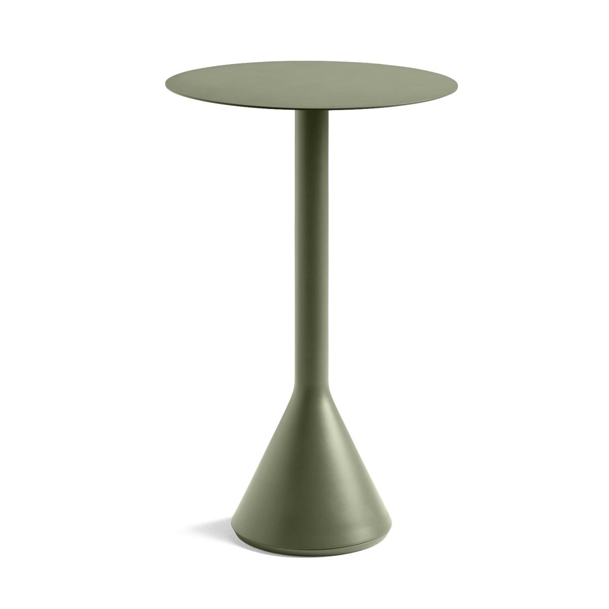 Palissade Cone Table Ø60 x H105 - Olive