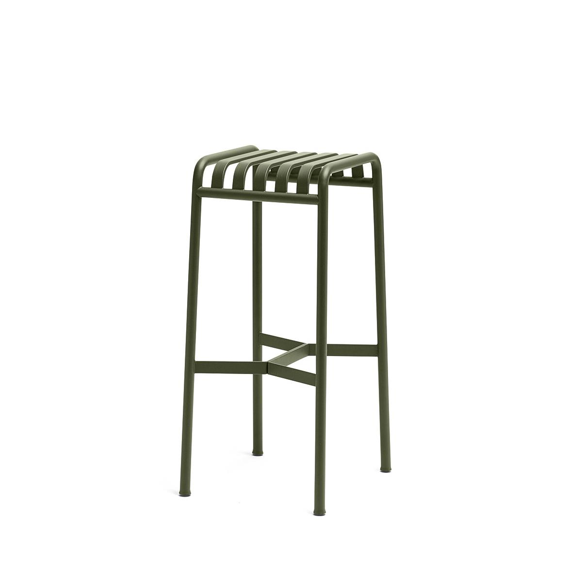 Palissade Bar Stool H74 - Olive