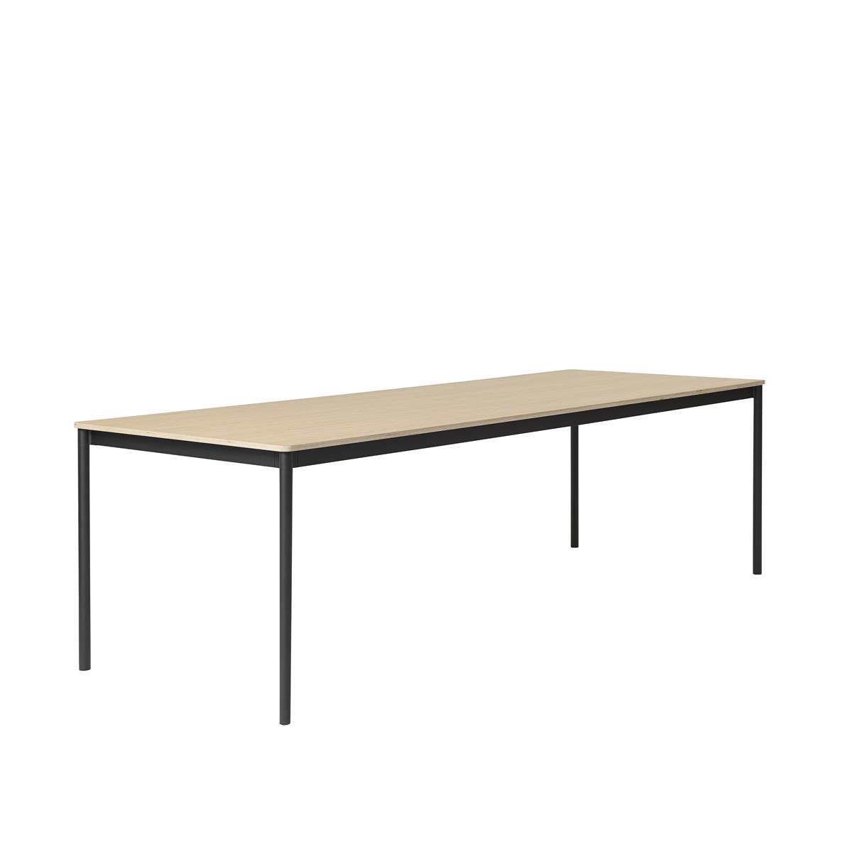 Base Table / 250 X 110 Oak Veneer - Plywood edges