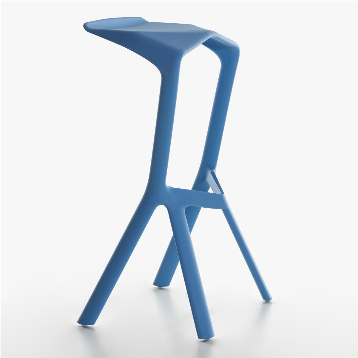 Miura Bar Stool H78 - Light Blue