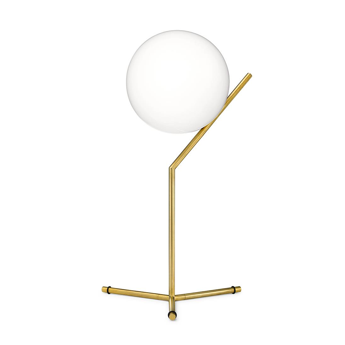 IC Lights Table 1 High - Brushed Brass