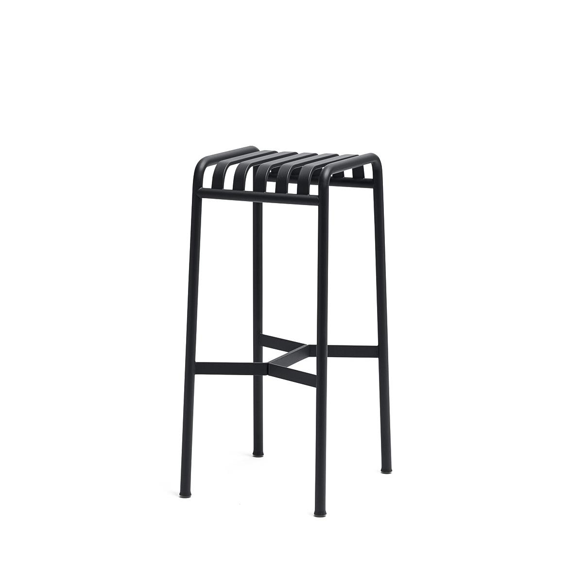 Palissade Bar Stool H74 - Anthracite