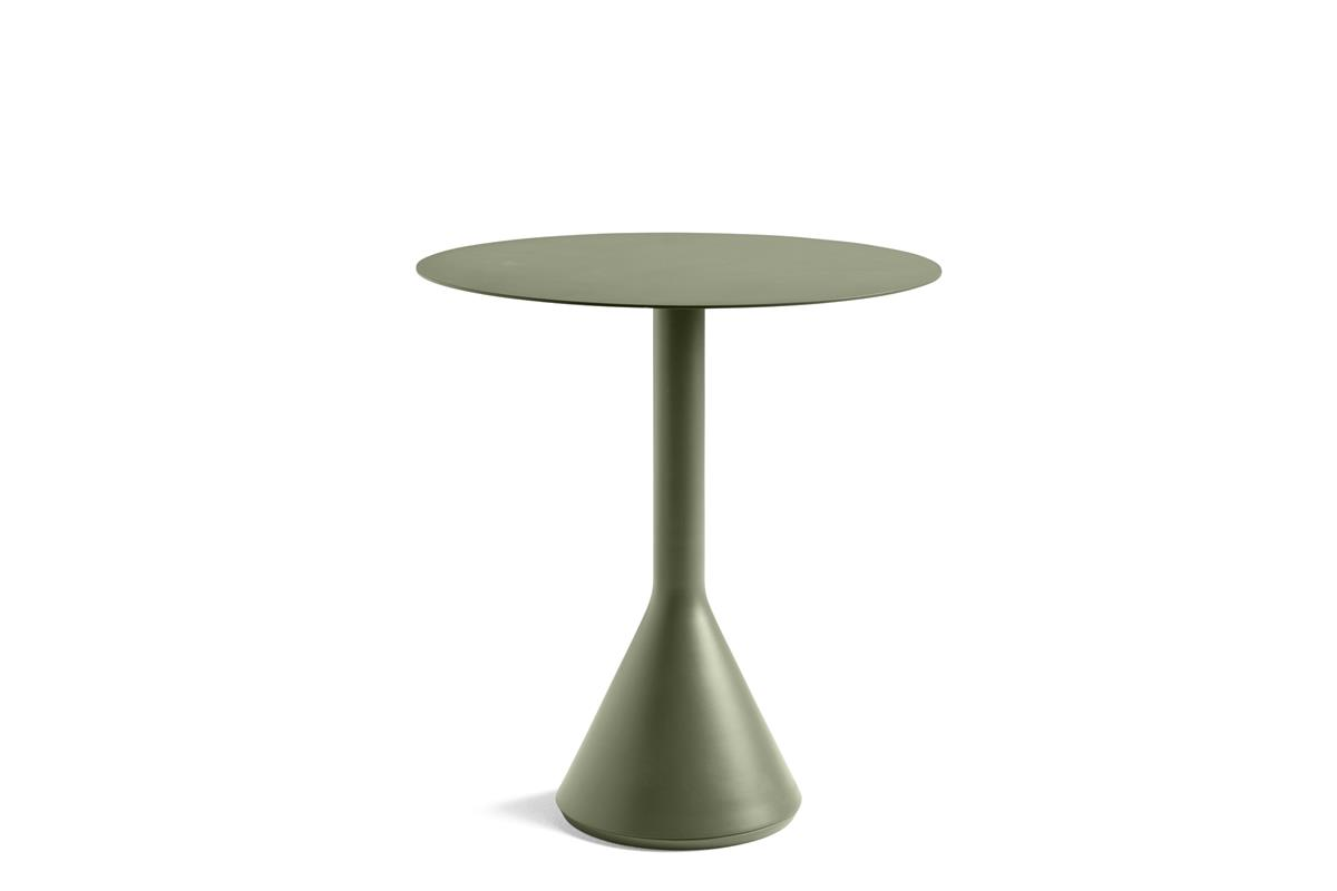 Palissade Cone Table Ø70 x H74 - Olive