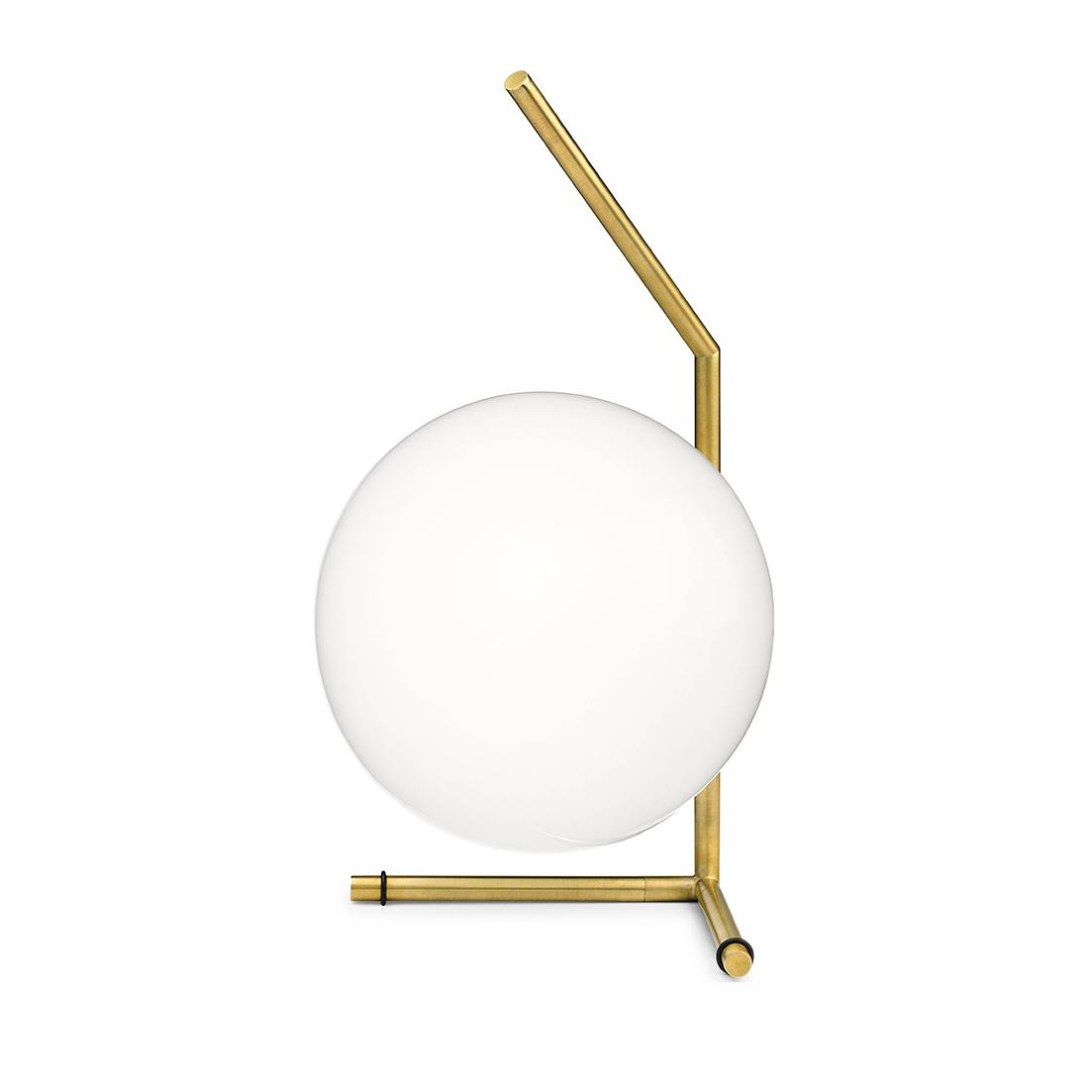 IC Lights Table 1 Low - Brushed Brass