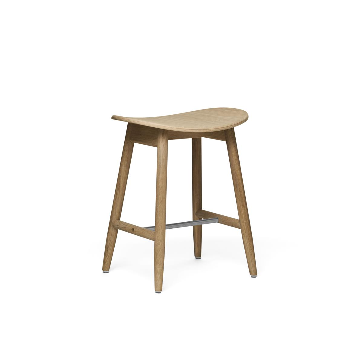 Icha Stool - Natural Oak
