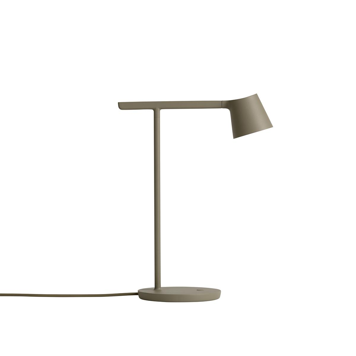 Tip Table Lamp Olive