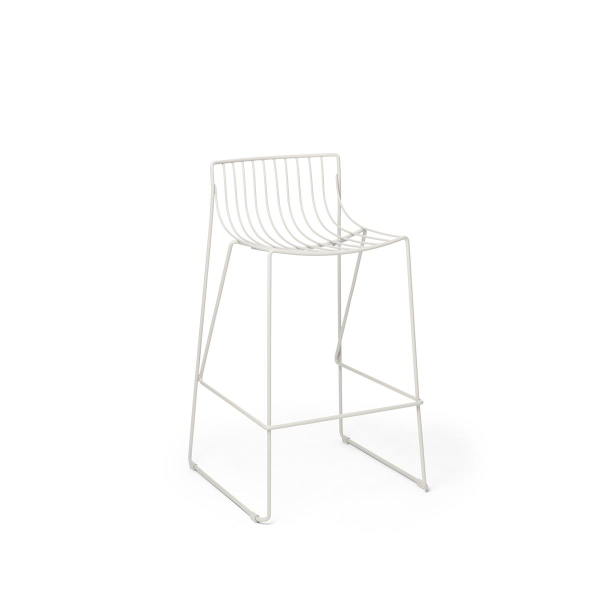 Tio Bar Stool - H 650 - White