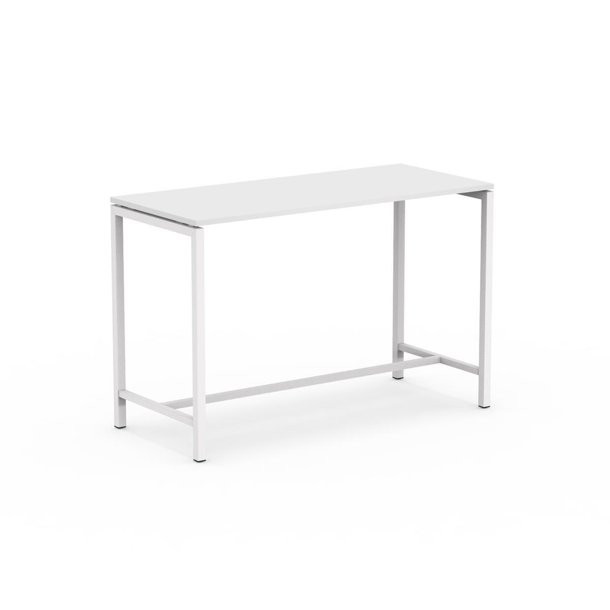U1 High Table 160 x 70 x H105 cm i hvit melamin
