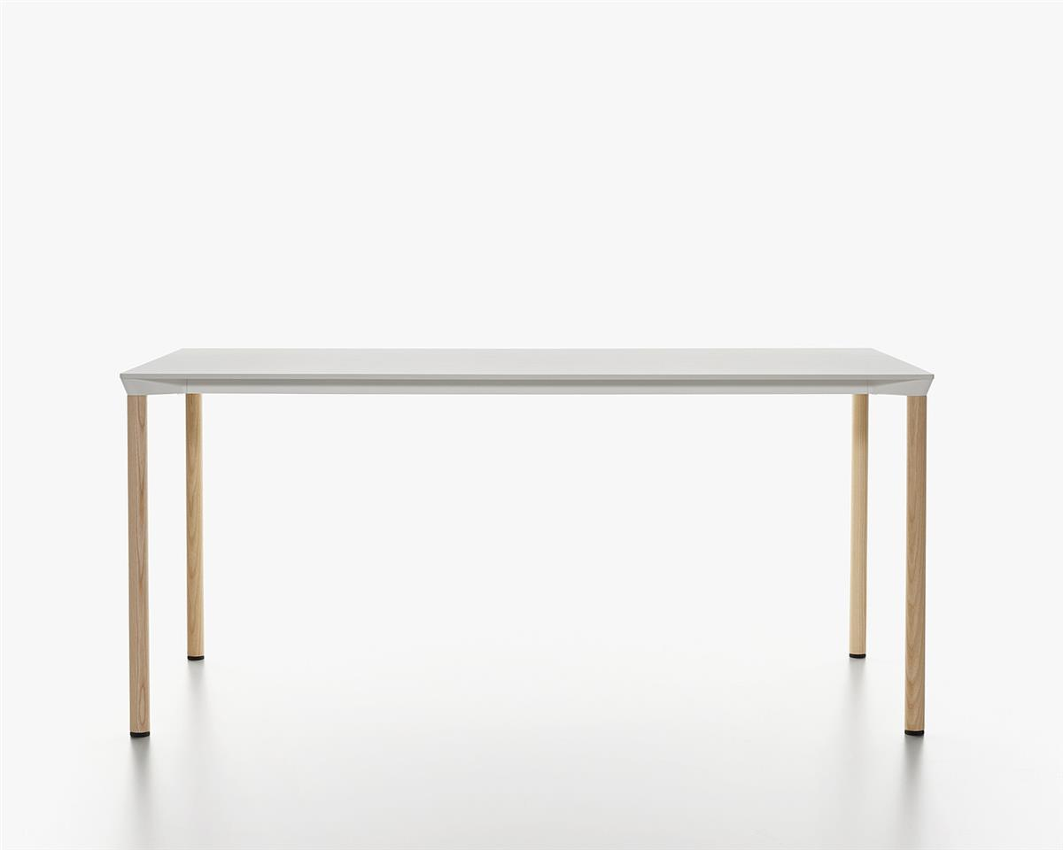 Monza Table 160 x 80 - hvit HPL & ask