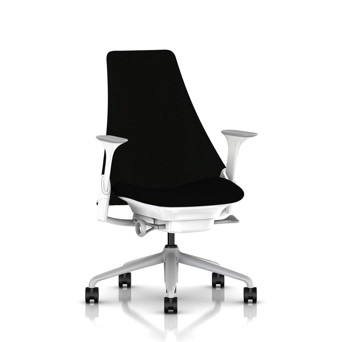 SAYL High Back Upholstered - Fog & Studio White med Unity tekstil