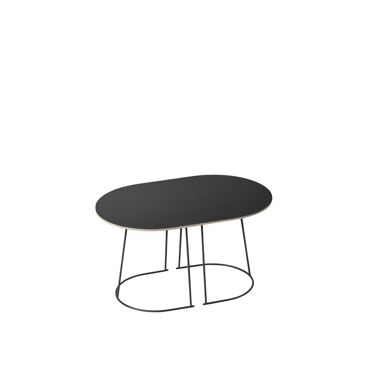 Airy Coffee Table / Small Black - Nanolaminate