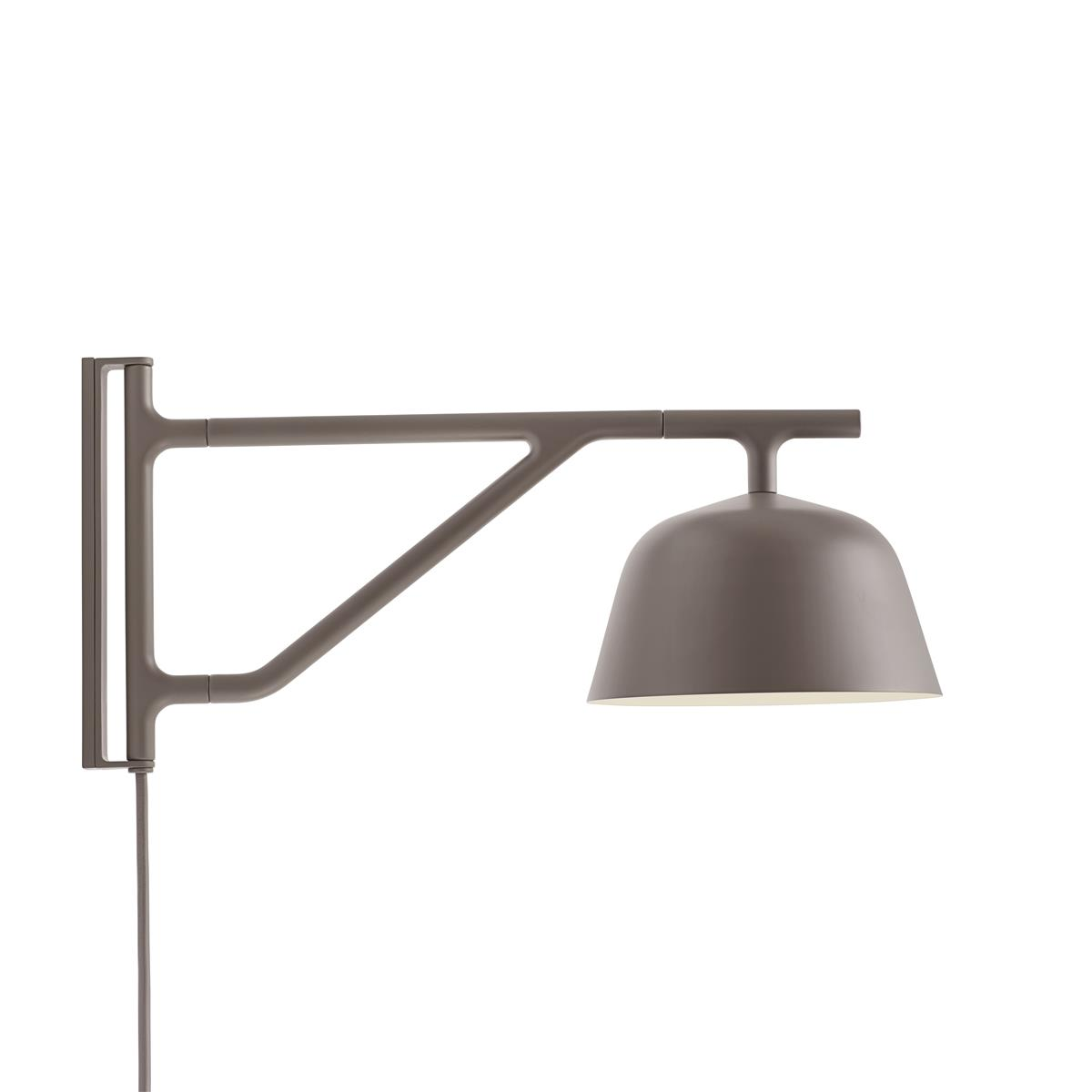 Ambit Wall Lamp Ø16,7 - Taupe