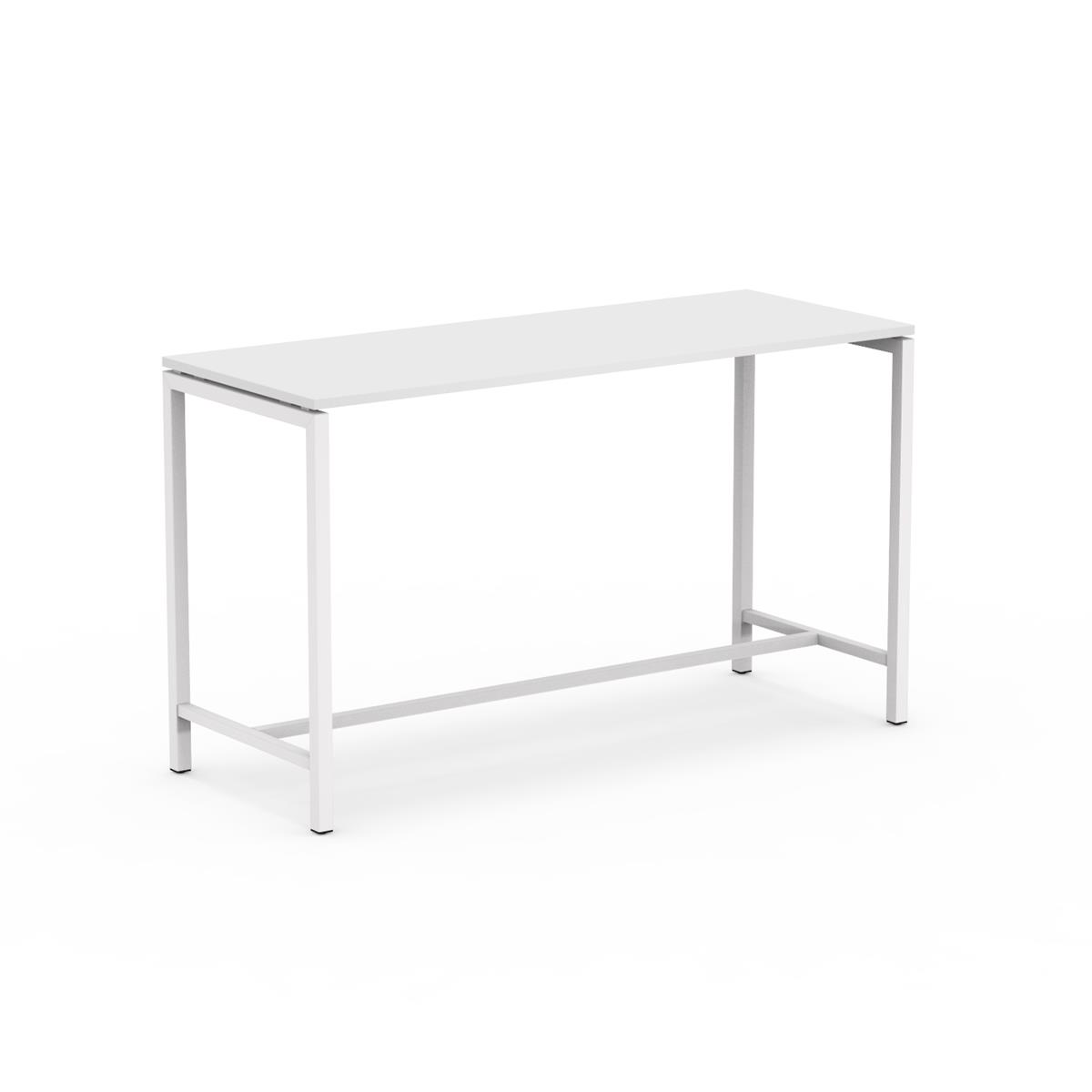 U1 High Table 180 x 70 x H105 cm i hvit melamin