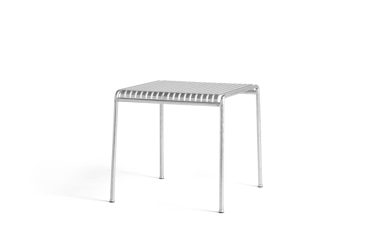 Palissade Table Small - Hot Galvanised
