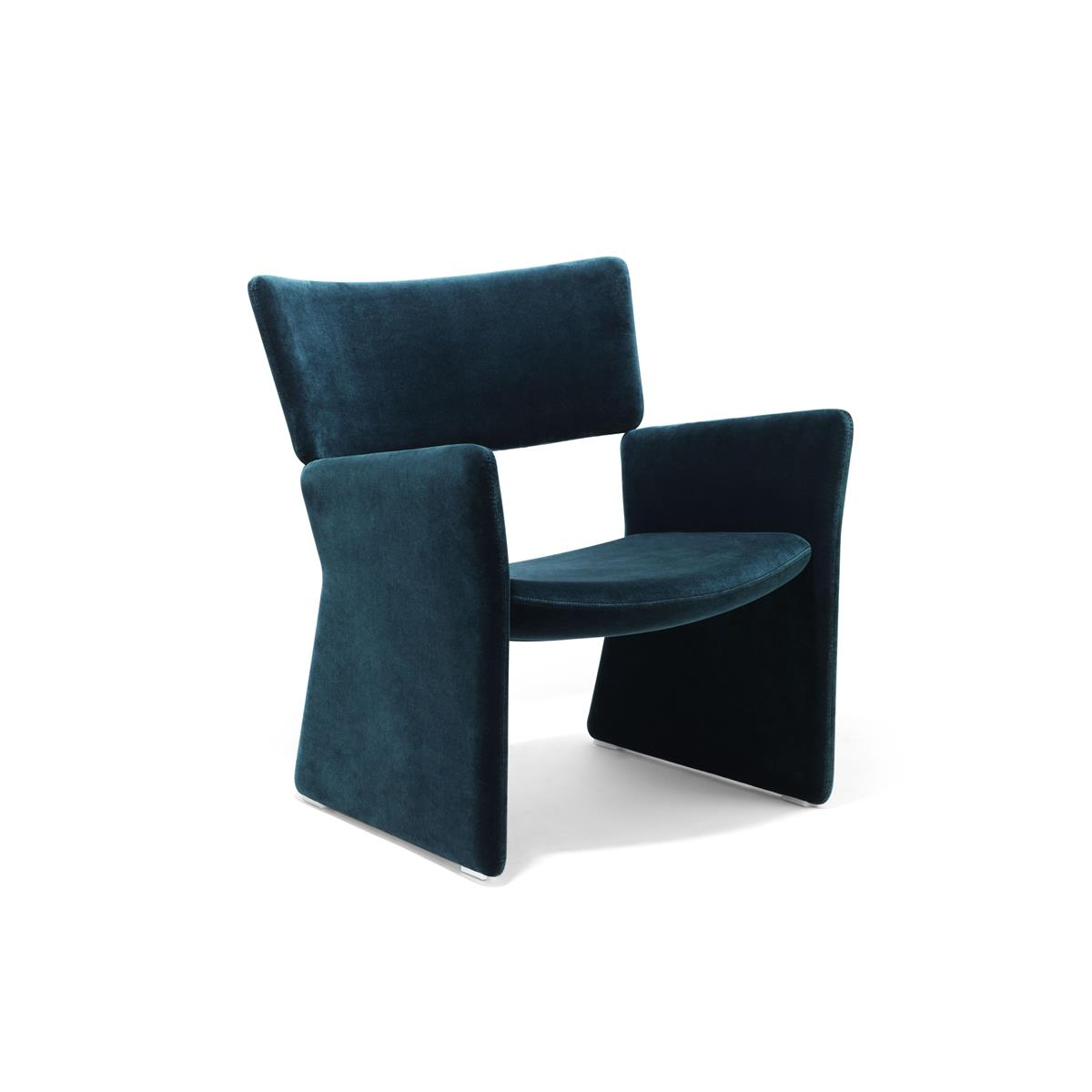 Crown Easy Chair med Kvadrat Hallingdal