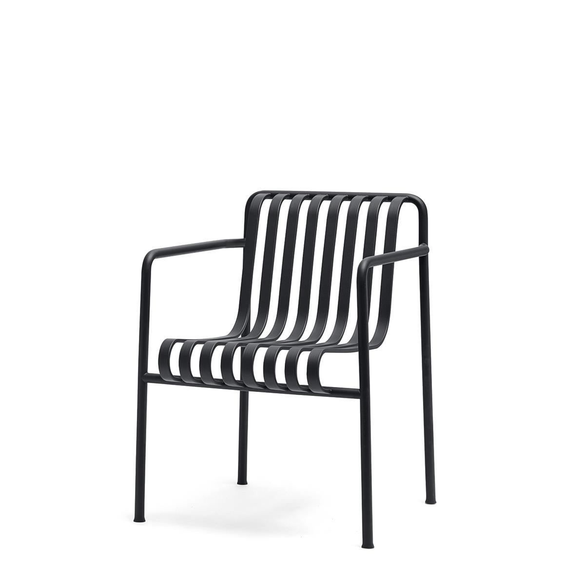 Palissade Dining Armchair - Anthracite