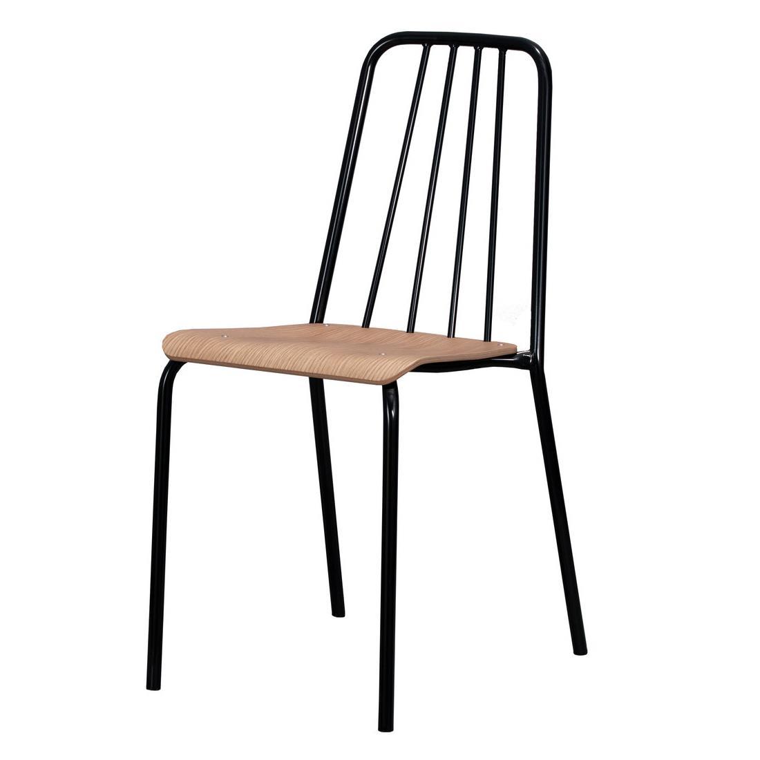 Euklides Objekt. Futura Chair. Sort understell