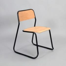 Bounce Chair i eik & sort