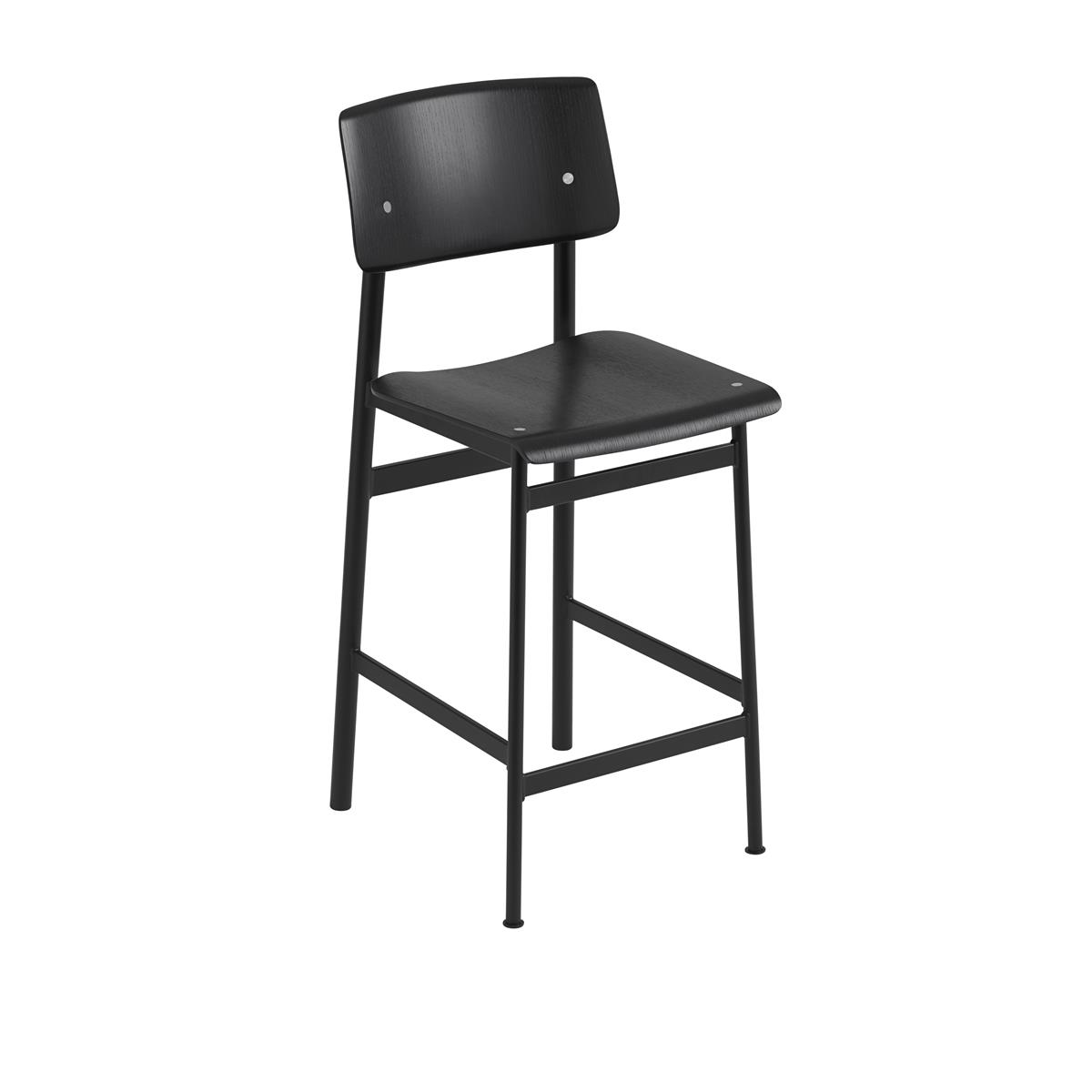 Loft Bar Stool H65 - Black