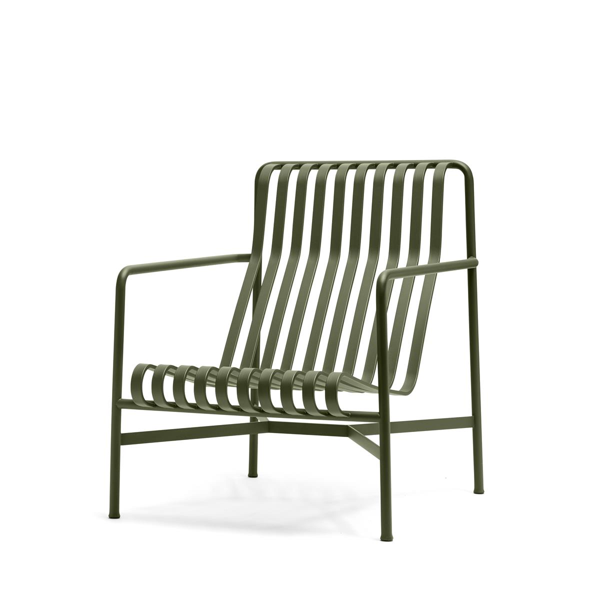 Palissade Lounge Chair High - Olive