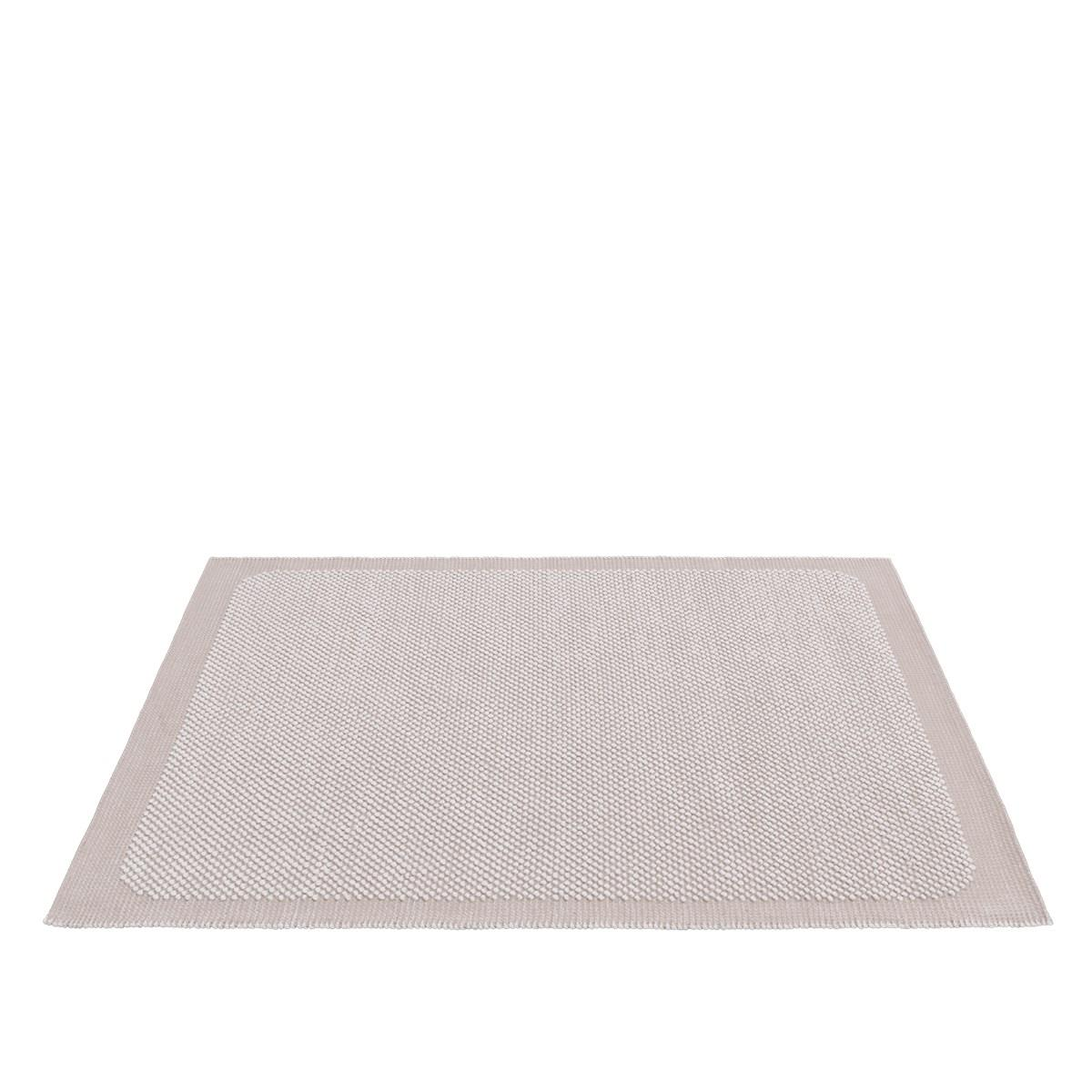 Pebble Rug. Pale Rose 200 x 300