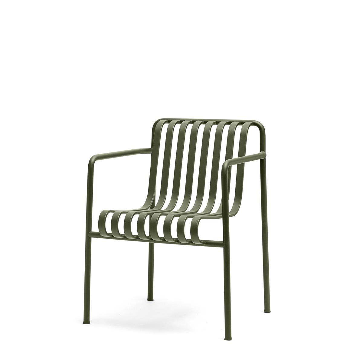 Palissade Dining Armchair - Olive