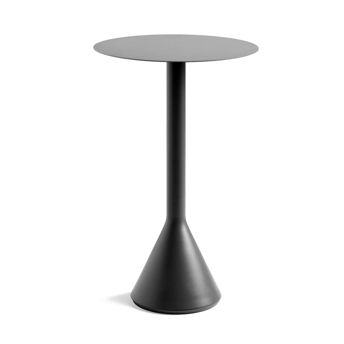 Palissade Cone Table Ø60 x H105 - Anthracite
